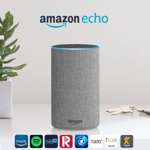 Amazon Echo (2. Gen.) Multiroom Lautsprecher